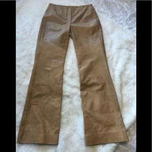 Wilson's leather pelle studio tan pants 4 28